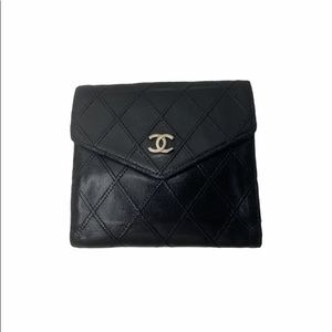 ❌SOLD❌Chanel CC Cosmos Line French Wallet